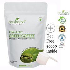 Neuherbs Organic Green Coffee beans Powder - 200 g Healthy Metabolism Free Ship