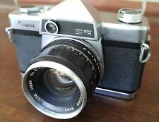 Vintage Kowa SE 35mm Camera and 50mm f/1.9 Lens Very Clean For Parts Not Working