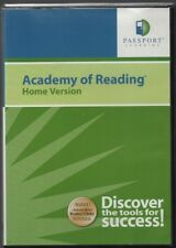 Academy of Reading Home Version - Passport Learning - 2 Cd Set - 2006 - Windows