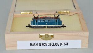 Z Scale Marklin 8825 Blue & Cream DB Class BR 144 Electric Locomotive