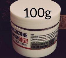 Face Cream Monobenzone 60% White Whitening Fades Skin Tone Clears Blemishes 100g