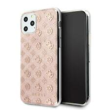Genuine Guess Glitter 4G Peony Case Cover for Apple iPhone 11 Pro Max Pink