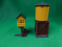HO Scale Revell Water and Switching Towers