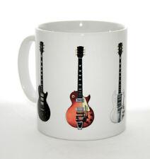 Guitar Mug. Keith Richards' Five Famous Guitar Illustrations.