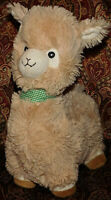 "Fiesta Luke the Tan Llama plush Stuffed Animal Toy 13"" Soft Lovey"