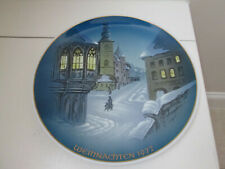 """Rosenthal Christmas Plate 1972 Weihnachten """"Christmette"""" 8 5/8 Georg Kuspert EXC"""
