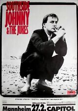SOUTHSIDE JOHNNY - 1984 - Konzertplakat - In the Heat - Tourposter - Mannheim