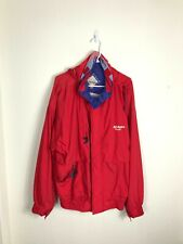 Mens XL AC Delco Racing Red White Athletic NASCAR Race Car Jacket VTG VINTAGE