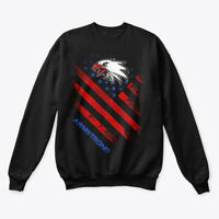 Armstrong Name In U.s. Flag Style Hanes Unisex Crewneck Sweatshirt