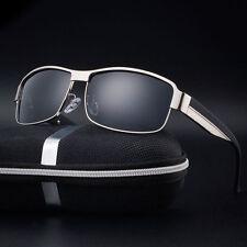 HD Mens Polarized Sunglasses Sports Eyewear Mirrored Glasses Fashion Driving