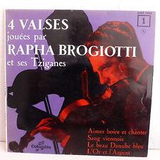 RAPHA BROGIOTTI et ses tziganes 4 valses Aimer boire et chanter ESDF 1063