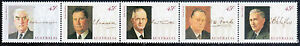 1994 Wartime Prime Ministers complete se-tenant strip of 5  MNH  • FREE POST