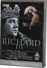 Richard III BBC Shakespeare Collection DVD - New Sealed