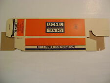 Lionel 2046W Tender Licensed Reproduction Box