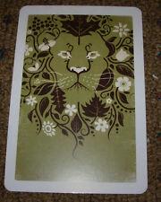 """DKNG Lion Art Postcard Handbill 4 X 6"""" like silkscreen poster print"""