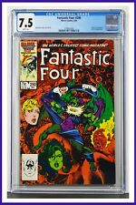 Fantastic Four #290 CGC Graded 7.5 Marvel May 1986 White Pages Comic Book.
