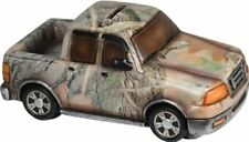 5936 Rivers Edge Truck Piggy Bank - Camo 9 inch long