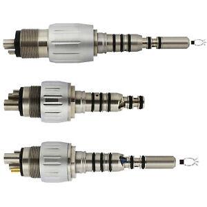 Dental Turbine Coupling Kavo Multiflex 4 6 Hole Optic E-generator LED Connection