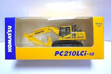 Komatsu Official Diecast Model Excavator PC210LCi-10 / 1:87 / Japan Exclusive