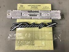 JDM Datsun S30 240Z Fairlady Z Front Fender Emblem Badge OEM Nissan 63805-E4100