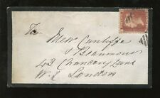 Used Cover Icelandic Stamps