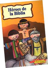 """LIBRO """"CLÁSICOS INFANTILES; HÉROES DE LA BIBLIA"""", VERSIÓN PARA NIÑOS"""