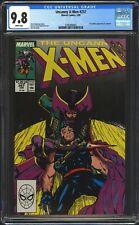 Uncanny X-Men #257 CGC 9.8 NM/Mint WP Jim Lee Cover! 1st Jubilee in Costume 1990