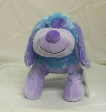 Blueberry Cheeky dog full size 9in Webkinz new with sealed unused code HM443
