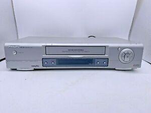 Vintage Philips VR 730/07 VHS Video Recorder Turbo Drive NICAM HIFI Stereo
