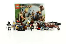 Lego Castle Set 7091 Knights' Catapult Defense 100% complete + instructions 2007
