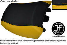 YELLOW BLACK VINYL CUSTOM FITS BMW R 1150RT 00-06 R 1100RT 94-01 REAR SEAT COVER
