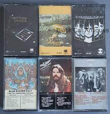 Lot Of SIX Music Cassettes QUEEN TORONTO SUPERTRAMP BOB SEGER BLUE OYSTER CULT
