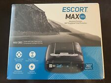 ESCORT MAX 360 Laser Radar  Detector/ OLED Display - Brand New In Plastic