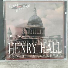 HENRY HALL AND HIS ORCHESTRA: Oh, Johanna ! (CD RCD 26841 Mono / OVP)