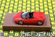 Original Ferrari 458 Spider rosso 24 Modellauto 1:43 MR Collection wie BBR