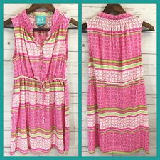 53d7497824a Escapada Sleeveless Dress Pink Beach Summer Print Women Size Small