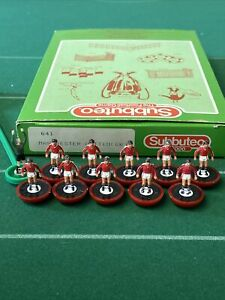 Subbuteo LW Manchester United Ref 641