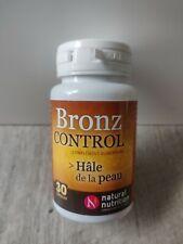 Complement alimentaire Bronz Control : Préserver Le capital Jeunesse De Sa Peau