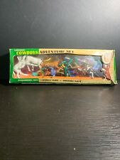 Vintage Transogram Cowboys Adventure Set