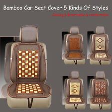 Universal Summer Car Cushion Cooling Bamboo Vehicle Massaging Seat Cover Car