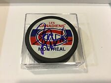 Montreal Canadiens Habs Larry Robinson Signed Hockey Puck Autographed a