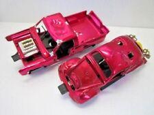 VINTAGE 1972 KENNER SSP CARS SMASH UP ULTRA CHROME TOUGH TOM & BUGGEM AS-IS