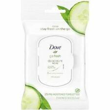 Dove Go Fresh Cucumber & Green Tea Deodorant Wipes, 25ct