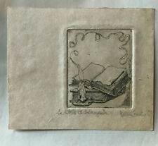 Exlibris Ex-Libris - ....A identifier Livre Bougie