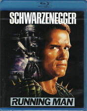 The Running Man , 100% uncut , Blu_Ray , new and sealed , Schwarzenegger .