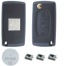 05B Fits Citroen C4 3 Button KEY FOB REMOTE CASE Repair Fix Kit 0523