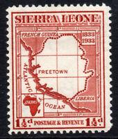 Sierra Leone 1 1/2d Stamp c1933 Mounted Mint (2395)