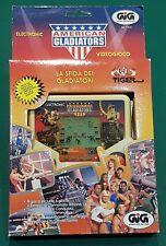Gig Tiger American Gladiators Electronic Videogame Videogioco 1988 nuovo new
