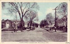 SKY TINT CARD FOURTH STREET LOOKING EAST NEILLSVILLE WI