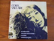 VINYL 33T 2LP CORA VAUCAIRE LES FEUILLES MORTES PATHE MARCONI 2C15015684 1977